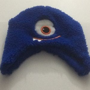NWOT Monster Hat Youth Blue